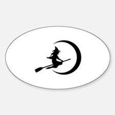 Witch Sticker (Oval)