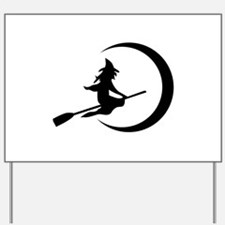 Witch Yard Sign