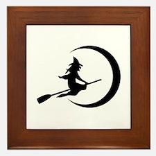Witch Framed Tile