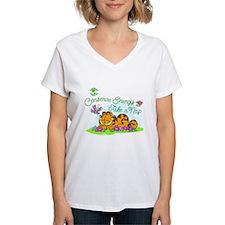 Conserve Energy Women's V-Neck T-Shirt