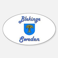 Blekinge Oval Decal