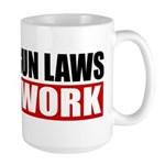 20,000 Gun Laws Large Mug