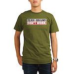 20,000 Gun Laws Organic Men's T-Shirt (dark)