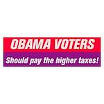 Obama Voters Sticker (Bumper 50 pk)