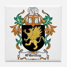O'Griffey Coat of Arms Tile Coaster