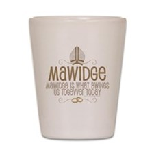Princess Bride Mawidge Wedding Shot Glass