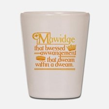 Princess Bride Mawidge Speech Shot Glass