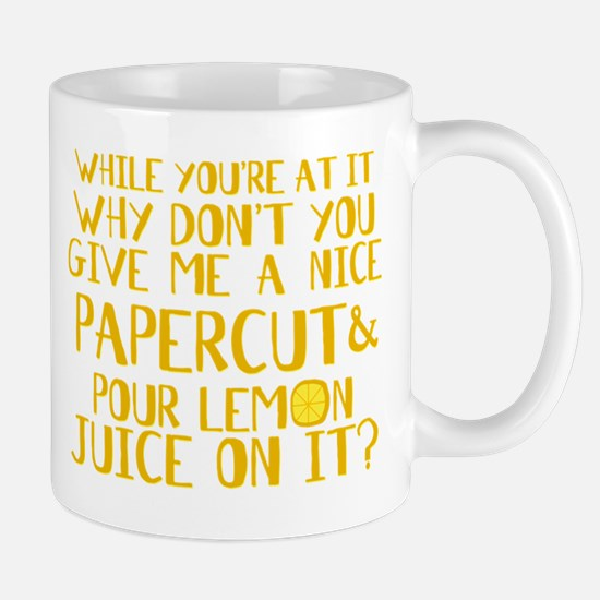 Lemon Juice Princess Bride Mug