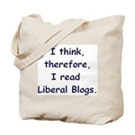 Liberal Blogs Tote Bag