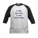 Liberal Blogs Kids Baseball Jersey