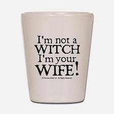 Witch Wife Princess Bride Shot Glass
