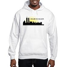 Imagine No Religion Twin Towers Hoodie
