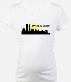 Imagine No Religion Twin Towers Shirt
