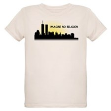 Imagine No Religion Twin Towers T-Shirt