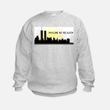 Imagine No Religion Twin Towers Sweatshirt