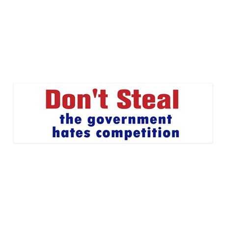 Dont Steal 36x11 Wall Decal