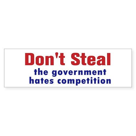 Dont Steal Sticker (Bumper)