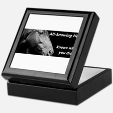 All-knowing Horse Keepsake Box