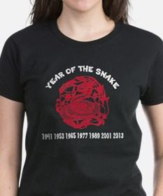 Chinese Paper Cut Year Of Snake Tee