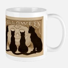 Halloween Black Cats Mug
