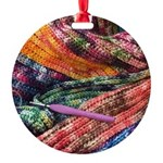 crochet afghan Ornament