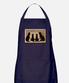 Halloween Black Cats Apron (dark)