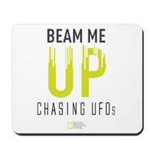 Beam Me Up Mousepad