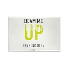 Beam Me Up Rectangle Magnet