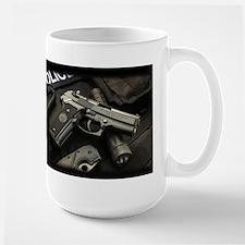 Beretta Pistol Large Mug