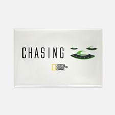 Chasing UFOs Rectangle Magnet