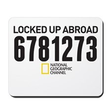 Locked Up Prison ID Mousepad