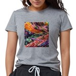 crochet afghan Womens Tri-blend T-Shirt