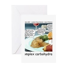 Way Too Complex Carbohydrates Greeting Card