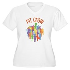 Pit Crew Band Collage T-Shirt