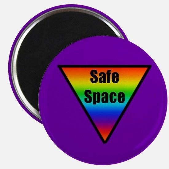 """Safe Space 2.25"""" Magnet (10 pack)"""