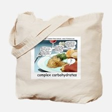 Way Too Complex Carbohydrates Tote Bag