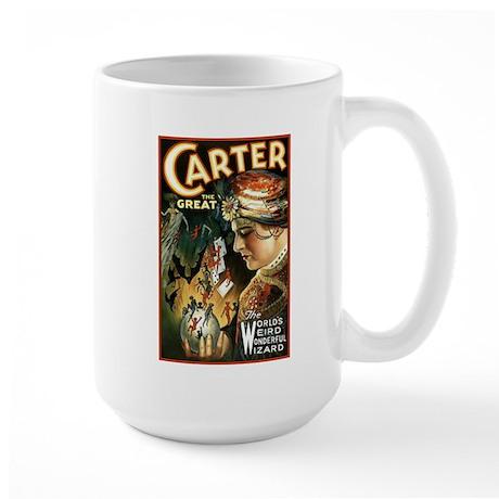 Vintage Magician Carter Large Mug