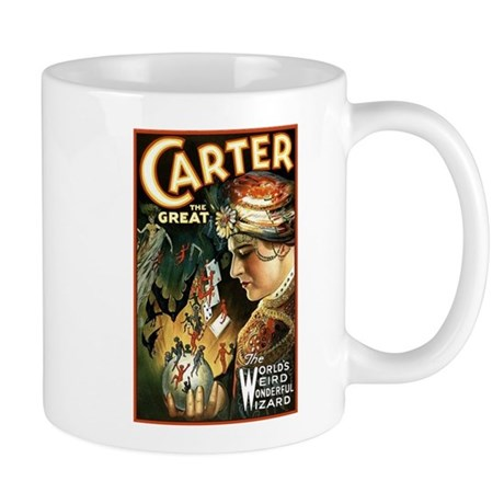 Vintage Magician Carter Mug