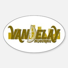 Vandelay Industries Oval Decal