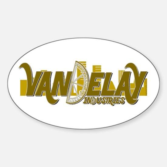Vandelay Industries Oval Decal