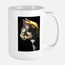 I, Too, Am Cat Large Mug