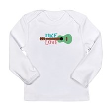 Uke Love Long Sleeve Infant T-Shirt