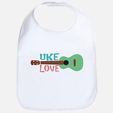 Uke Love Bib