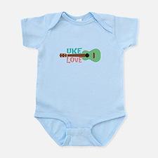 Uke Love Infant Bodysuit