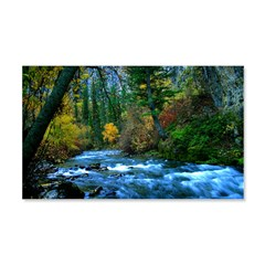 Mountain river Wall Decal