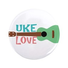 "Uke Love 3.5"" Button (100 pack)"