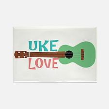 Uke Love Rectangle Magnet (10 pack)