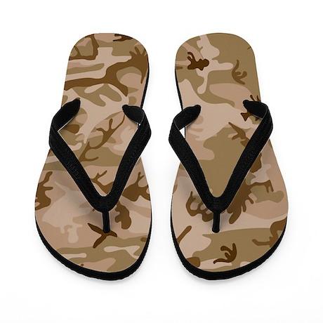 Desert Camo Flip Flops
