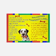Property Laws -Dalmatian Magnets