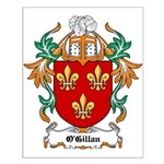 O'Gillan Coat of Arms Small Poster